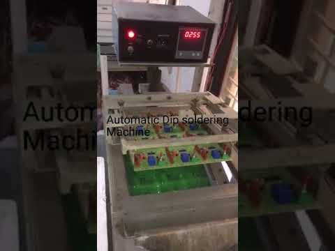SMT Dip Soldering Machine With Digital Temp Controller