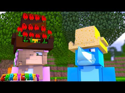 THE HAT CHALLENGE!  Crazy Craft | Minecraft Little Kelly Plays
