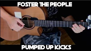 Kelly Valleau - Pumped Up Kicks (Foster The People) - Fingerstyle Guitar