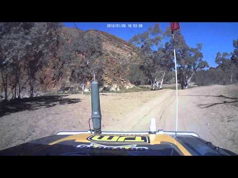 Simpson Desert go pro shots OV1 230 on The Just 4 Kids Motortrail