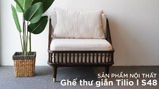 [Decox.vn] Ghế Sofa Tilio – S48