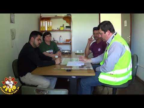 Reunião na Secretária de Meio Ambiente com o Sistema Produtor São Lourenço