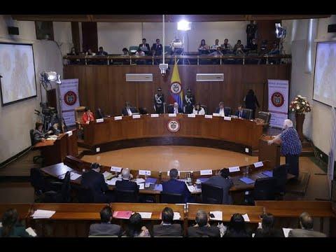 Audiencia publica de Google y Facebook en la Corte Constitucional | Noticias Caracol