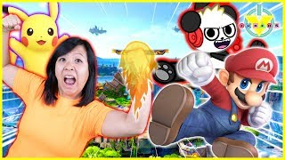 SUPER SMASH BROS ULTIMATE ! Let's Play BOYS VS. GIRLS