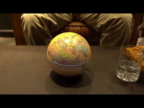 Rotating Globe Modern Learning Globe Kids Study Desk Decor World Map Geography Kids Education