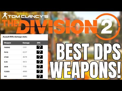 The Division 2 - The BEST DPS Talents in the Game