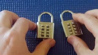 (Picking 6) Push-button combination padlock (Revisited)