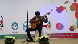 Juara 1 FLS2N Solo Gitar Klasik Tingkat Nasional  2017