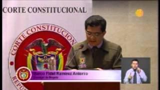 DEFENSA DE LA FAMILIA ANTE LA CORTE CONSTITUCIONAL