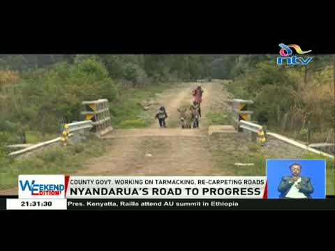 Nyandarua residents say devolution has greatly improved county's infrastructure