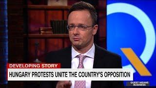 Szijjártó Péter feltörölte a padlót a CNN legirritálóbb riporterével (+ videó)