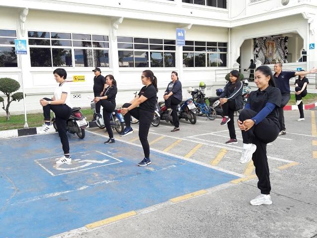 กิจกรรมออกกำลังกายทุกวันพุธ สร้างสุขภาพที่ดี ลดความเครียด และเพิ่มพลังในการทำงาน