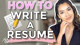 How to Write a Resume | With Little or NO Work Experience