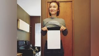 """Chinese women compete to be thin as """"A4"""" printer paper"""
