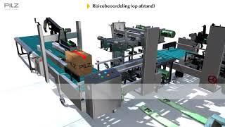 Machines blijven veilig met risicobeoordeling op afstand van Pilz