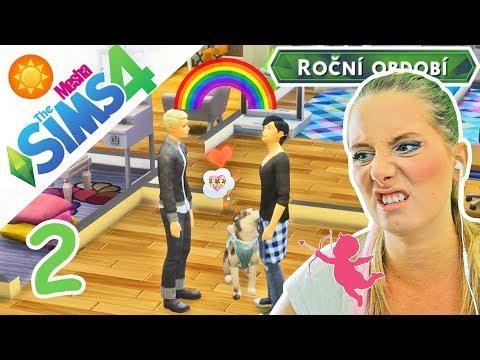 Je Lucas gay? A Daisynka hledá psího milence! ● The Sims 4 - ROČNÍ OBDOBÍ 02
