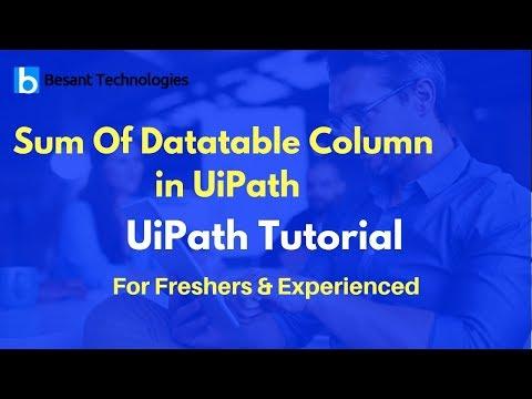 Rename Column Name of data table in UIPath - смотреть онлайн на Hah Life