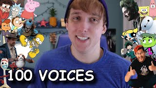 100 VOICE IMPRESSIONS IN 7 MINUTES