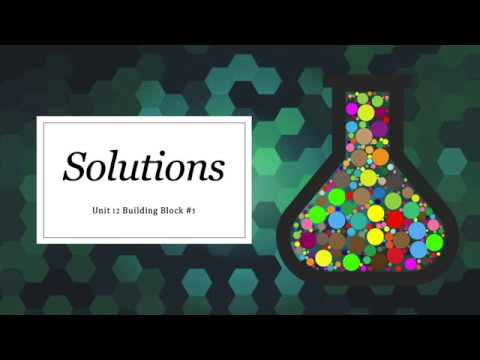 Download Solutions   BB5 Solubility Rules Mp4 HD Video and MP3