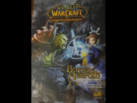What's Inside – World of Warcraft: Heroes of Azeroth Starter Deck