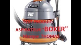 """Présentation du nouveau modèle d'aspirateur  """"boxer"""" de la marque allemande THOMAS"""