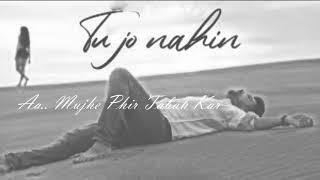 Tu Jo Nahin Hain Lyrical - | Manan Bhardwaj | Siddhi Gupta