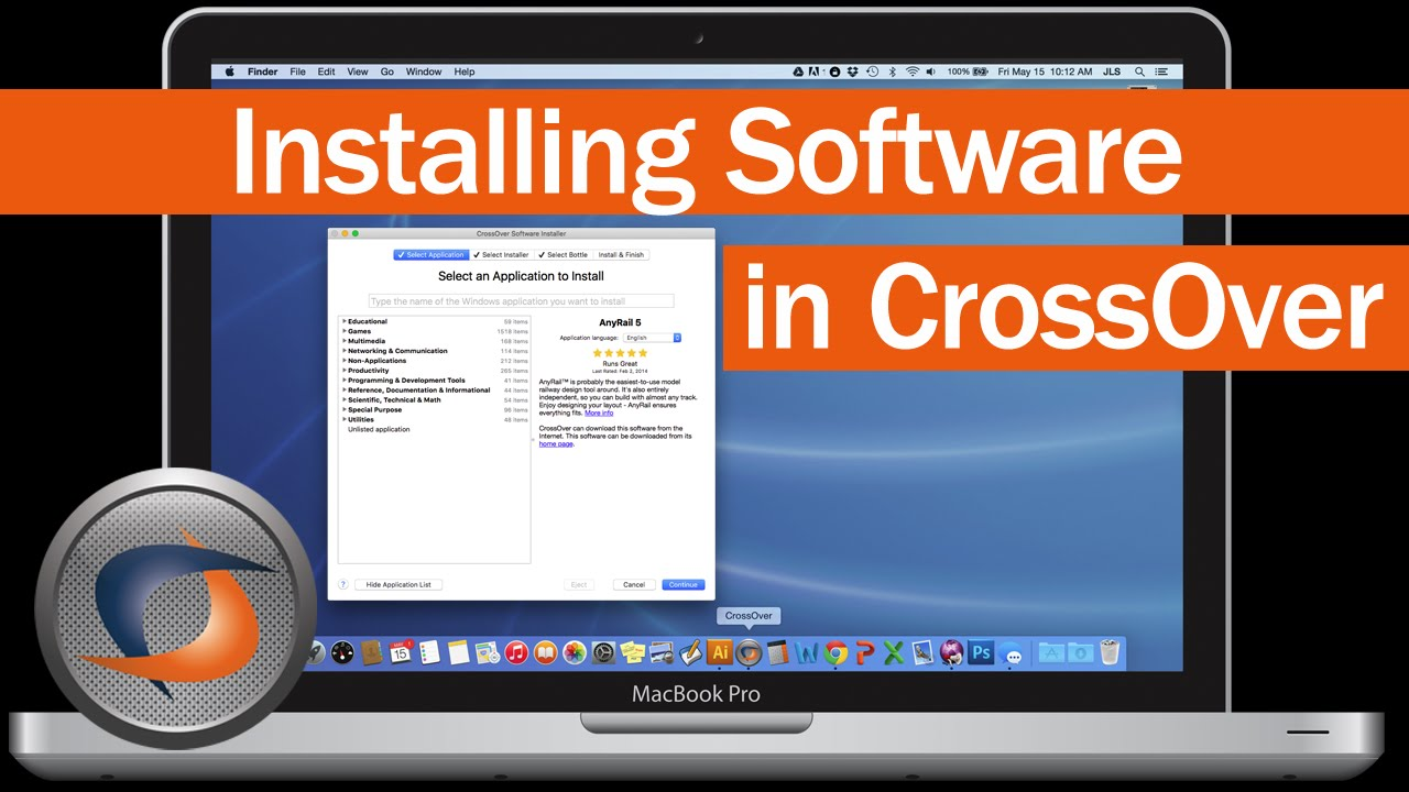 Run Windows Software on Mac with CrossOver | CodeWeavers The Capabilities of CrossOver Mac. CrossOver Mac runs Microsoft Windows  productivity software ...