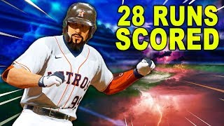 CRAZY 28 RUN WORLD SERIES GAME! MLB The Show 20 | Road To The Show Gameplay #59