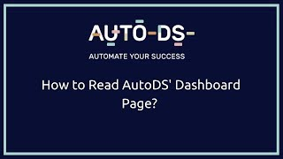 AutoDS video