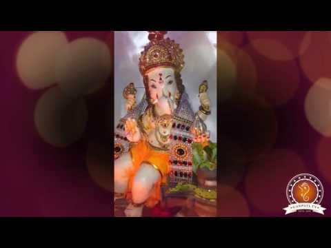 Dhiraj Prajapati Home Ganpati Decoration Video