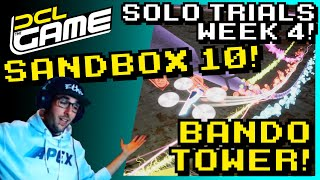 DCL The Game - Sandbox 10 Bando Tower - Track Guide! Solo Trials: Week 4 2021!