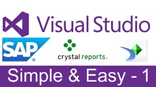 Design a Complete Crystal Report with Formatting, Grouping & Formulas 1/2