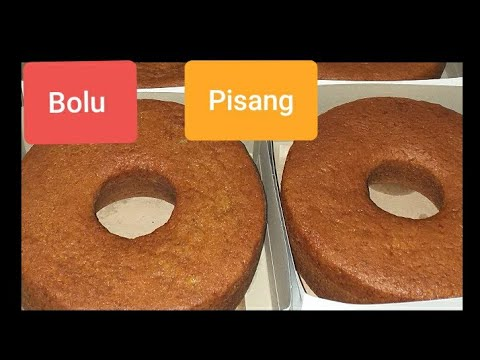 Resep Bolu Pisang Anti Gagal