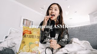 attempting ASMR for the *first* time + Napa Trip 🍷