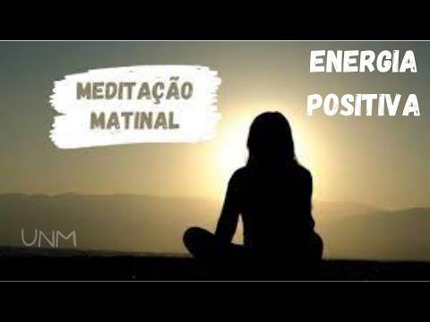 Meditação matinal para energia positiva
