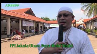 LIPUTAN  43 FPI Buka Posko Di Masjid Luar Batang Lokasi Penggusuran Kampung Nelayan