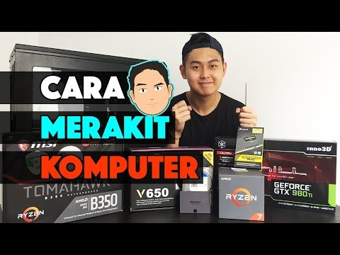 Video Cara BENER merakit Komputer ! #CrankyTips