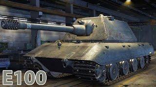 World of Tanks КАТАЮСЬ НА ОГРОМНОМ ТАНКЕ Е100 Игровой мультфильм для детей WOT