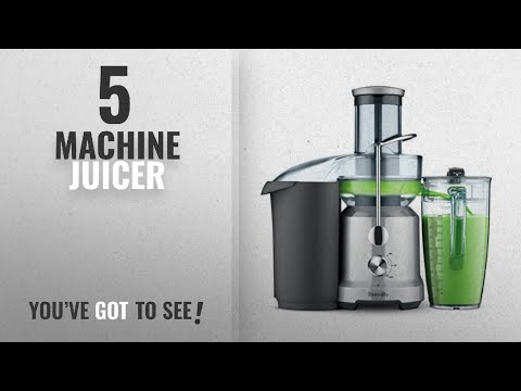 Top 10 Machine Juicers [2018]: Breville RM-BJE430SIL Juicer Machine, Brushed Stainless Steel