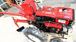 Мотоблок дизельный Forte HSD1G-101E PLUS от компании ПКФ «Электромотор» - видео