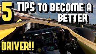 5 TIPS to become a *BETTER DRIVER* in racing games!!