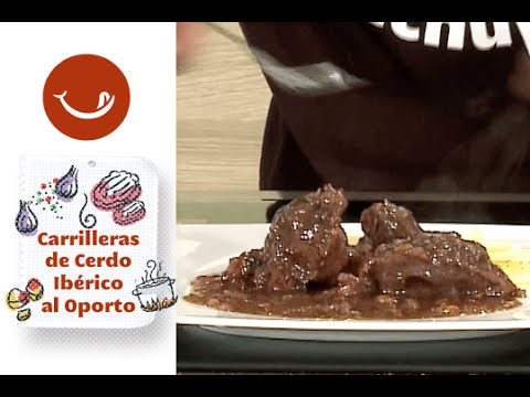 Receta de carrilleras de cerdo ibérico al Oporto