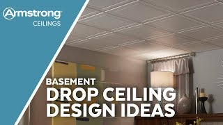 Basement Ceiling Design Ideas | Armstrong Ceilings For The Home