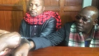 BREAKING NEWS: Johnstone Muthama charged with physical fight calculated to bring death
