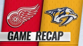 Three different Red Wings score in 3-2 road win