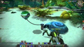 Warcraft - Cataclysm Vashj'ir Playthrough Part 16: Whale shark phobia