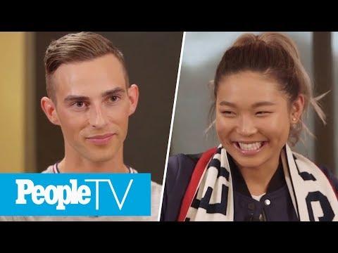 Adam Rippon Admits Harry Styles Is His Celebrity Crush & Chloe Kim Says Hers Is Zayn!   PeopleTV