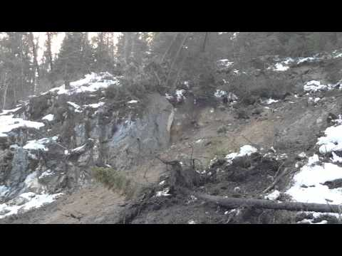 This Is How Fast A Little Landslide Turns Into A Full-On Cataclysm