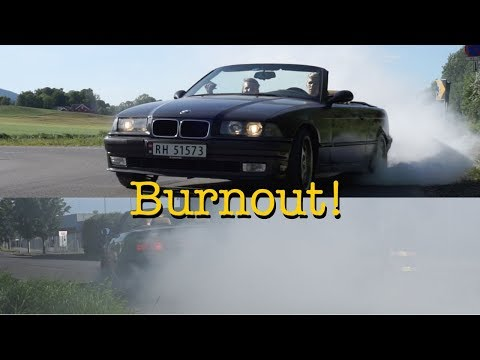 Trying 2nd Gear Burnouts! E36 325i