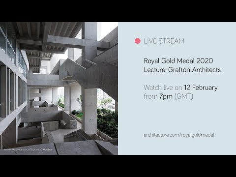 RIBA Royal Gold Medal lecture with Grafton Architects